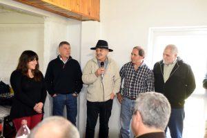 Natalí Lázzaro, Jorge Di Luca, Fernando Andrade, Hugo Inza y Edgardo Herrera.